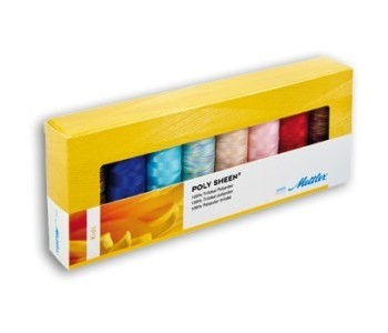 Kit 8 filati Amann Mettler Poly Sheen Kids