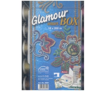 Smart Box con 18 filati metallic Glamour