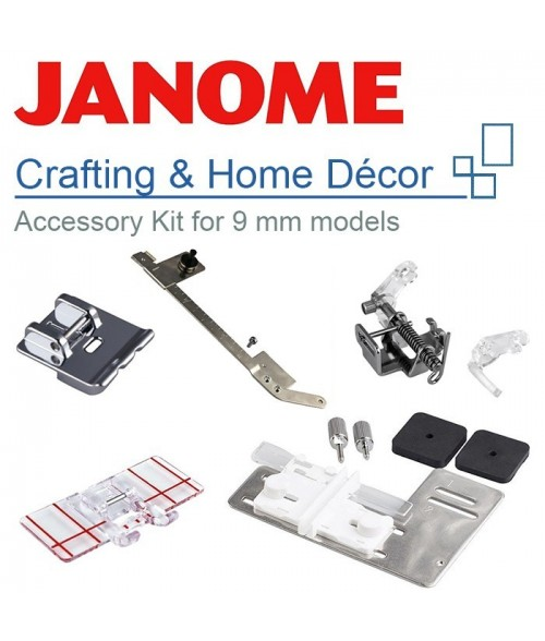 Janome Crafting & Home Décor Kit