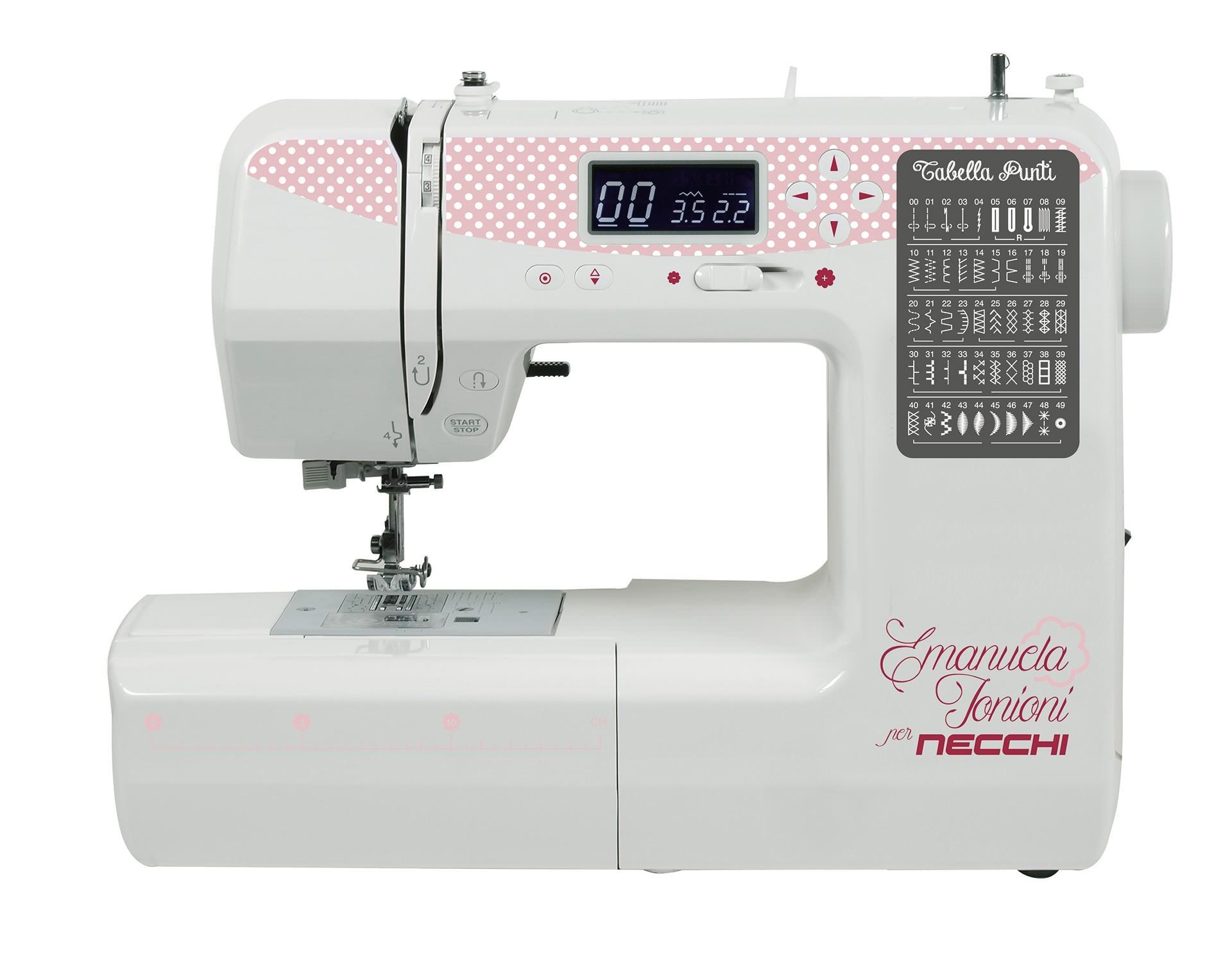 Macchina da cucire elettronica necchi n510 edizione zakka for Ipercoop macchina da cucire